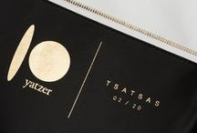 TSATSAS FOR 10 BY YATZER / The participation of TSATSAS for the first edition of 10 by Yatzer with a special edition of 20 pieces of the OTHER ONE pouch bag. Adopting the subject of black/white/gold the fully reversible unisex bag has been customized in black calfskin and white lamb nappa leather featuring gold-toned hardware.  The launch will be on the occasion of Milan Design Week 2016 at Spazio Pontaccio. The collection of exceptional products will be sold through a pop-up shop from the 12th to the 30th of April, 2016.