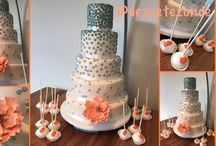 Wedding cakes I made