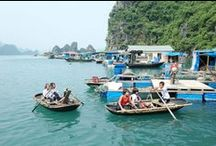 Halong Bay / Beautiful spots around Halong Bay - a World Heritage Site by UNESCO. For more details, please visit http://www.graylinehalong.com/16-destinations.html