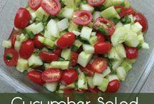 Salads-hot & cold-vegan / by Alice Lantz