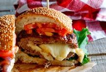Cooking - Hamburger, sandwich