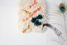 K n i t + S t i t c h / Everything knitted or stitched.