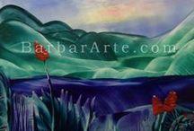 Encáustica - Paisajes   / Encaustic - Landscapes / Pintura encáustica - Paisajes                                        Encaustic painting - Landscapes