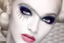 Make up inspiration (extrem) / Extrema sminkningen för ex visning & show