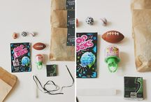 {P a r t y} / birthday party ideas and games and invitations and food / by Marisa Lother