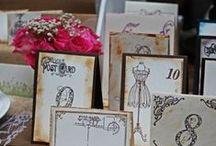 ® Munkáim - Esküvő, My Works - Wedding Paper Decorations / Ültetőkártya, ültetési rend, asztalszám, menükártya, székdíszek. Place Cards, Seating Plans, Table Numbers, Menus, Chair Signs.  info@popupwedding.hu,  Facebook: Pop-up Wedding