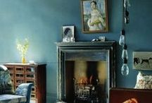 Art of the Fireplace / Fireplace & Mantle art and artful arrangements. / by D C