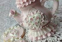 Beautiful, romantic cakes, krásné romantické dorty / inspirace hlavně na dorty pro ženy