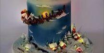 Christmas/Winter cakes - Vánoční/Zimní dorty / vánoční a zimní inspirace
