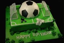 Soccer, Football - cookies, cupcakes, cakes / dorty, ... s fotbalovou tématikou