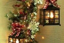 Christmas time, Vánoční čas / nápady na vánoční výzdobu