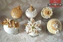 Christmas/Winter Cupcakes, Cake Pops, Minicakes / pro inspiraci