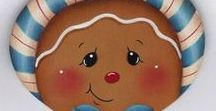 Gingerbreadman, Gingerbreadgirl, Gingerbreadbaby ... / perníček a perníčková