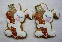 Easter Gingerbread - Velikonoční perníčky / krásná inspirace