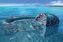 Under the Sea / Underwater homes, hotels & marvels