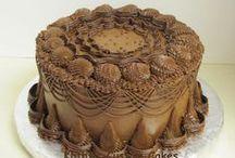 Chocolate/Brown Cakes - Čokoládové/Hnědé dorty