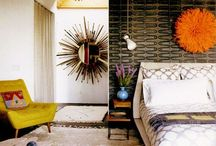 Color Scene Inside 3 / Modern, vintage, contemporary, eclectic interiors and their colors / by D C