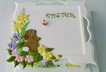 Easter cakes - Velikonoční dorty