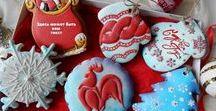 Christmas/Winter Gingerbread of the World - Vánoční perníčky z celého světa / Perníčky maďarské, ruské, ..........