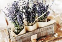 ♥ Esküvő témája: Provence ♥ Provence Wedding Theme ♥