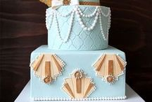 Art Deco/Great Gatsby Cakes, Cookies, Cupcakes