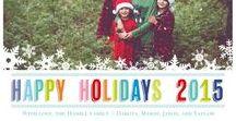 Holiday Card Trend: Brights / Go bold & bright this holiday season! Full Brights collection: snapfish.com/brights