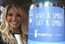 Smile Train / Christie Brinkley Authentic Skincare has joined forces with  Smile Train is the largest cleft charity benefiting children all over the world.