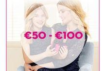 #LUCKYMOM - cadeaus €50-€100 / Is jouw moeder een #LuckyMom? Schenk haar dan een mooi cadeautje. ICI PARIS XL heeft het perfecte geschenk voor ieders budget.