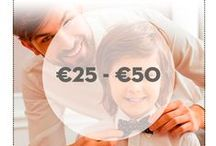 Lucky Dad - cadeaus €25 - €50 / Verdient jouw #LuckyDad ook een supercadeau? Wij helpen je er graag een te kiezen! Wordt het een lekkere geur of de beste huidverzorging?