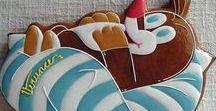 Gingerbread-Animals -/ Perníčky se zvířátky
