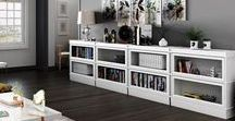 Not Just for Books - Our Favorite Barrister Bookcase Storage Solutions / Hale Bookcases can be used for more than books - check out these great storage ideas.