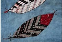 Hand & machine stitching