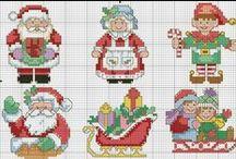 Cross Stitch Nadal