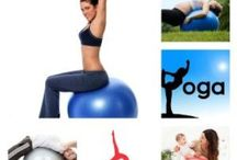 Exercise Stability Yoga Ball / Medicine Stability  Yoga Ball Ab`s health fitness  / by Sophy Sports