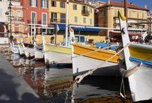 Six Fours les plages, Sanary sur Mer, Les Embiez, le Brusc / Coastal towns of Provence