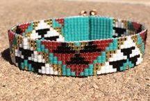 Perlen Schmuck - Native American Style / Schmuck und andere schöne Dinge mit Perlen im Native American Style