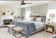 The Suite Life / We designed this master bedroom suite to inspire sleeping in, breakfast in bed, and romantic nights in. And of course, staycations...