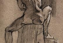 Art & Illustration Inspiration / arte, illustración, inspiración, pinturas, picturas, croquis, esbozos, dibujos, tinta, tinta y pluma / by Teresa Roberts Logan