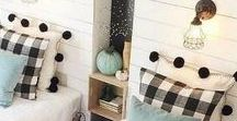 Bedrooms / DIY and decorating ideas for any bedroom!