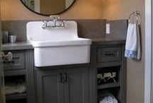 Bathroom Ideas / Updating and renovating ideas for your bathroom.