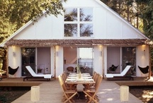 ♡ Backyard / Inspiring gardens, plants, flowers, roof tops terraces, tree houses, sheds and backyard furniture
