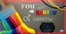 Classroom Decor Ideas / Creative ideas for your classroom, bulletin boards, library displays.