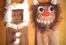 Where the Wild Things Are / Activities for the book Where the Wild Things Are.