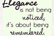 Elegance / by Kathryn Kabot