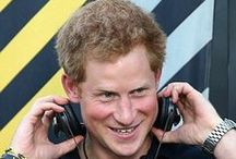 HRH Prince Harry  / by Kathryn Kabot