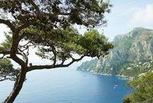 Capri Sorrento and The Amalfi Coast / by Kathryn Kabot