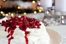 ♡ Delicious Christmas / Christmas treats, dinners and decorations