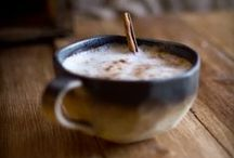 ♡ Hot Drinks / Hot chocolate, coffee and other warm comforting drinks