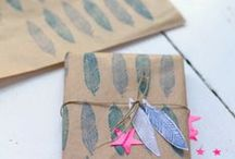 ♡ Wrapping / How to wrap your gifts