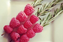 ♡ Fruits / Recipes with pretty coloured fruits